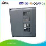 Sako 230V 모터 속도 제어를 위한 단일 위상 입력 1.5kw 2HP VFD 변하기 쉬운 주파수 드라이브 변환장치