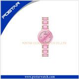 Horloges van de Diamant van het Merk van de Luxe van de manier de Ceramische voor Vrouwen