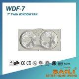 "Электрический вентилятор 7"" реверсивный вентилятор окна Twin"