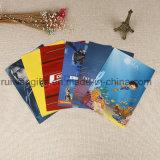 A4 3D de PP de plástico duro documento impreso Archivo carpetas portadocumentos promocionales