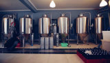 Cadena de producción de la cerveza de la cervecería del equipo de la cerveza del equipo de la fabricación de la cerveza mini equipo completo de la cerveza