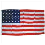 Indicateur 3*5, indicateur de pays, indicateur national imperméable à l'eau de polyester fait sur commande bon marché américain