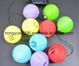 Heißes verkaufendes chinesische Solarzeichenkette-Solarzeichenkette-Licht der Laterne-Ketten-Minilaterne-LED