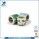 Etiqueta autoadhesiva de empaquetado durable impermeable de encargo de la impresión