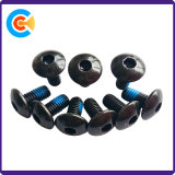 Aço carbono preto do Parafuso de Cabeça de Soquete Sextavado Anti-Loose Parafusos