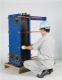 海洋のクーラーのためのチタニウムの版を持つ版の熱交換器