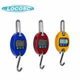 Alarma de sobrecarga de supervisión de la batería de balanza digital 100 kg.