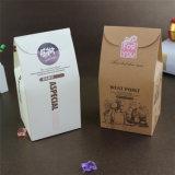 Caisse d'emballage rectangulaire populaire de bidon de praline de chocolat de cadre de bidon de chocolat de noix de nourriture de Valentine