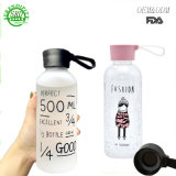 Promotional 500ml sans BPA Logo personnalisé Sports Bouteille pour le sport
