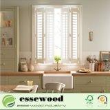 Le gesso blanc enduit PVC imperméable Plantation de la fenêtre de l'obturateur