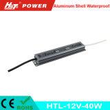 12V 3A 40W impermeabilizan la bombilla flexible de tira del LED Htl