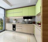 モジュラー台所家具のキャビネットのプロジェクトの流行の食器棚