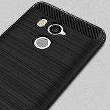 HTC U11+를 위한 실리콘 TPU 탄소 섬유 전화 상자 플러스