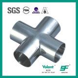 衛生学のステンレス鋼の衛生等しい溶接された十字