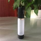 15ml 30ml 50ml berijpte de Zwarte Kosmetische Fles Zonder lucht van de Pomp voor Essentiële Olie