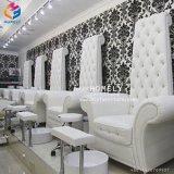 Salón de uñas Manicura Pedicura Spa silla con la plataforma de la cuenca del pie