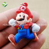Hot Sale Mario Bros PVC trousseau