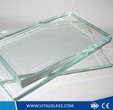 vidro de flutuador desobstruído super de 8-12mm para o vidro do edifício