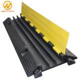 Starker flexibler Kanal-Gummikabel-Rampe der gelben Umhüllungen-3