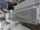 Lastre bianche della copertura delle mattonelle della parete delle impronte di punti delle scale della pietra del granito del Bethel