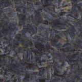 Blauer Farben-Marmor-Entwurfs-glatte glasig-glänzende ausbreitenporzellan-Fliese 60X60