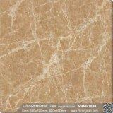 Baumaterial-glasig-glänzende Marmorpolierporzellan Floor&Wall Fliese (600X600mm, VRP6D069)