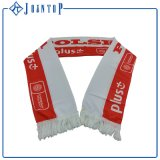 Lenço tecido do futebol da cópia do lenço dos ventiladores de futebol do logotipo promoção feita sob encomenda