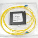 Divisor ótico da fibra em forma de caixa do ABS do PLC 1*2