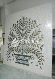 Ventas que tallan a la madre del mosaico del shell del material 2017 de construcción de Preal