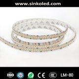 高品質は360 LEDs/M 3528 DC24Vの適用範囲が広い白LEDのストリップを防水する