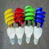 Câmaras de ar fluorescentes pequenas da meia cor espiral das ampolas de CFL/ESL
