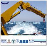 De mariene Kraan van de Kraanbalk van het Dek van het Schip Hydraulische