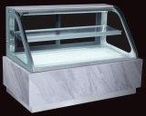 ケーキによって冷やされているショーケースの飾り戸棚またはサンドイッチ表示カウンター(S860A-M)