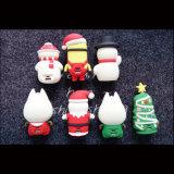 Côté mobile portatif de pouvoir du cadeau 4000mAh de Noël mini pour Samsung
