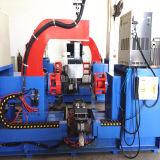シリンダーボディ円周の溶接機