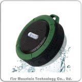 C6は金属のホックが付いているBluetoothの屋外の携帯用無線スピーカーを防水する