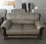 بيضاء لون مصنع [وهولسل بريس] فندق ردهة جلد أريكة ([أ06])
