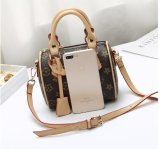 Cuoio della signora Handbag PU della fabbrica di Guangzhou 4 insiemi della borsa di PCS