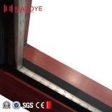 Gebildet China-in der Aluminiumdoppelverglasung-Haus-Tür