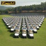 2 Seaterの電気ゴルフカートの太陽ゴルフバギーのカート