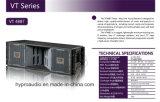 Professionele Audio van de Spreker van het Systeem van de Serie Vt4887 van de lijn de PRO Audio Correcte