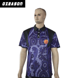 Таможни полиэфира новые конструкции сублимации Mens гольфа рубашки 100% пола