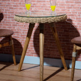 Таблица отдыха безалкогольного напитка 2 мест обедая для кофейни B05-7 Starbucks напольное или крытое