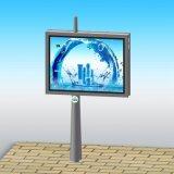 De openlucht het Scrollen Apparatuur van de Reclame van de Vertoning van de Banner van het Aanplakbord van de Straat