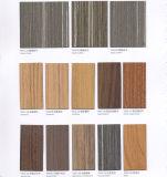 Resistente a la abrasión fácil procesamiento de granos de madera Panel laminado hpl Formica láminas para techo