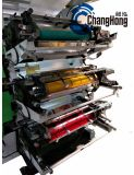 Six Machine d'impression flexo du papier de couleur