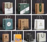 Мешок руки покупкы бумаги OEM Kraft различный