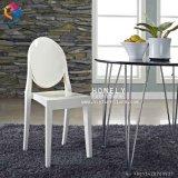 La résine acrylique blanc Ghost chaise sans accoudoir pour mariage