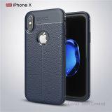 Lederner Fall des Muster-TPU für iPhone X