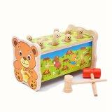 Деревянные детей Gophers гостиной у меня проблемы на стенде a Mole мышь молотка игры музыкальные игрушки